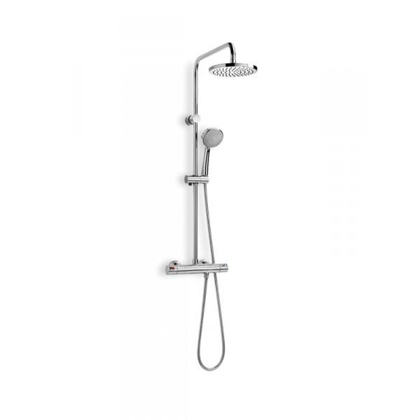 Columna de ducha termost tica victoria t de roca coysa for Grifos de ducha termostaticos