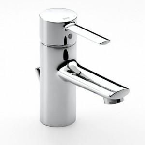 Targa grifo lavabo monomando desagüe automático