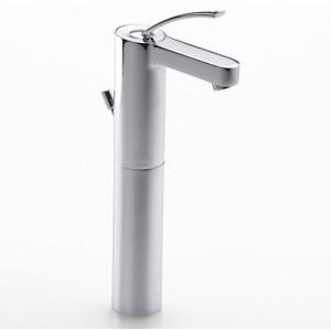 Atlas grifo de lavabo con cuerpo liso coysa online - Grifo lavabo cano alto leroy ...