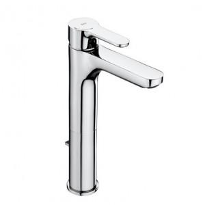 L20 manecillo XL caño alto desagüe automático grifo lavabo