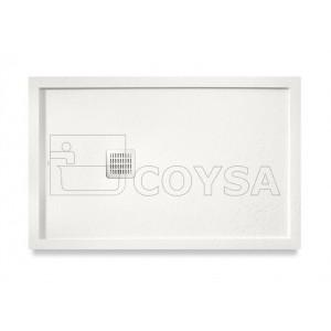 Terran ROCA marco blanco roto Plato de ducha extraplano
