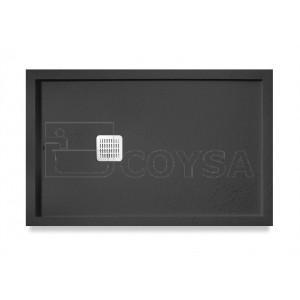 Terran ROCA marco negro Plato de ducha extraplano