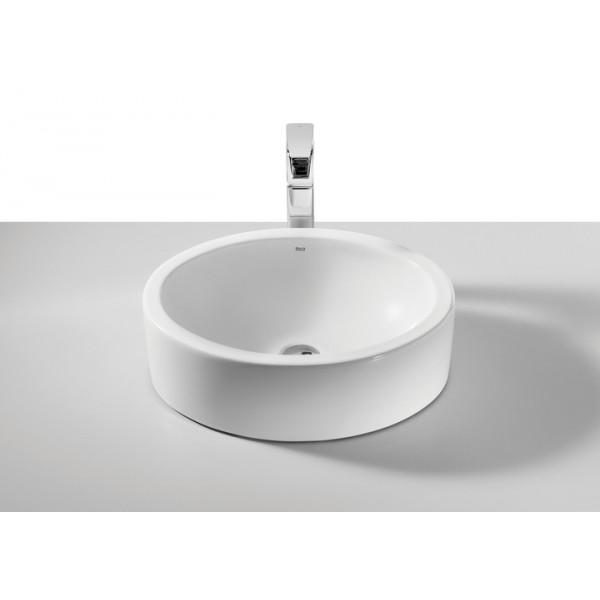 Fuego lavabo sobre encimera porcelana coysa online for Lavabo redondo sobre encimera
