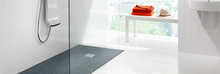 Platos de ducha de resina roca a los mejores precios for Platos de ducha roca rectangulares