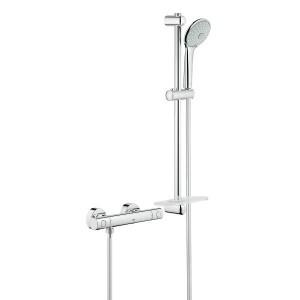 Sanitarios muebles de ba o duchas griferia coysa for Termostato para ducha